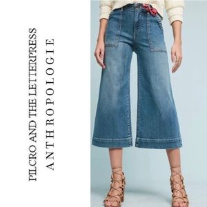 Anthropologie high rise crop jeans size 29